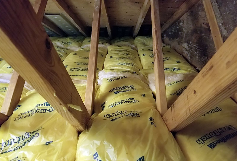 proper insulation to help prevent mold in your attic